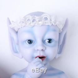 IVITA 15'' Avatar Silicone Reborn Baby Small Fairy GIRL Silicone Doll 1300g