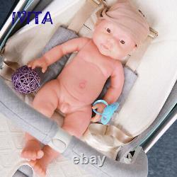 IVITA 16'' Full Body Silicone Reborn Doll Lifelike Baby BOY 2200g Xmas Gift Toy