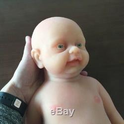 IVITA 18'' Lifelike Full Silicone Reborn Baby BOY Doll Accompany Birthday Gift