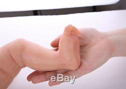 IVITA 18'' Reborn Baby GIRL Realistic Silicone Reborn Baby Dolls Teaching doll