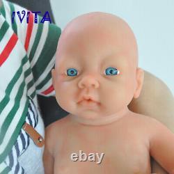 IVITA 20'' Fullbody Silicone Reborn Baby GIRL Silicone Doll Kids Birtheday Gift