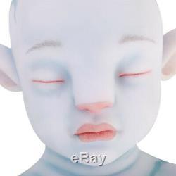 IVITA 20 Lifelike Reborn Baby Doll Silicone Avatar Doll Girl Playmate Xmas Gift