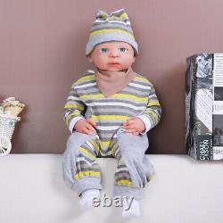 IVITA 21 Full Silicone Rebirth Baby Doll Waterproof Toddler Xmas Gift Doll
