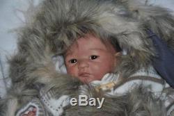 JLH PROTOTYPE Sweet Inuit Girl Anouk by Heike Kolpin Reborn / Reallife