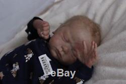 Jayden by Natalie Scholl Reborn Baby BoyRARE long sold out limited edition