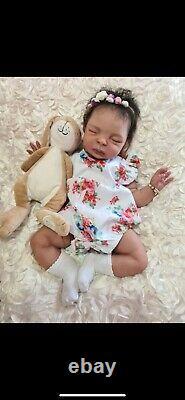 Jo Birch Olivia 21 Full Body Silicone reborn Baby Doll