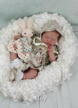 Jolie By Sylvia manning full bodied silicone baby/ reborn baby