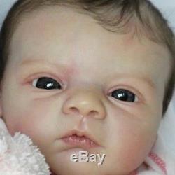Kyra Reborn doll kit by Gudrun Legler long sold out! Blank unpainted vinyl kit