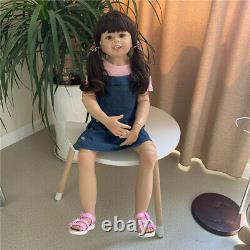 Large Toddler Baby Girl 39 Standing Reborn Baby Dolls Realistic 3yr Child Size