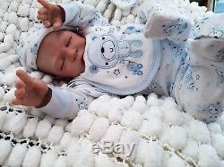 Laura Lee Eagles Big 22 In Silicone Vinyl Baby Boy Reborn By Sunbeambabies
