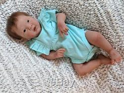 Leeza Full Body Silicone Ecoflex 30 baby by Michelle Fagan Sold Out Limited Ed