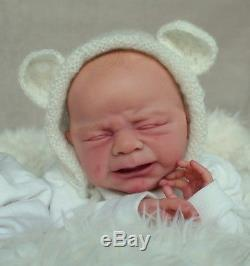 Leo Prototyp Ulrike Gall Zwillinge Limitiert Rebornbaby Hairpainting