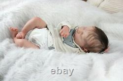 Levi sculpted by Bonnie Brown. Beautiful Reborn Baby Doll with COA