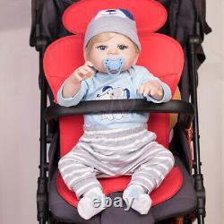 Lifelike Full Body Soft Vinyl Silicone 22 Reborn Baby Doll Boy Toddler Newborn