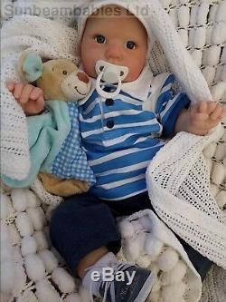 Lifelike Newborn Dolls Realistic Sunbeambabies Donna Rubert 7lbs Reborn Toddler