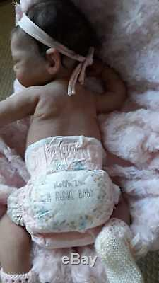 Limited Edition Full Body Platinum SILICONE baby by Romie Strydom