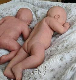 Luke by Helen Connors Full body silicone newborn preemie baby boy soft ecoflex