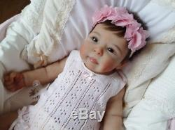 MADE TO CUSTOM ORDER Baby Full Body Soft Solid Silicone Boy or Girl Reborn Doll