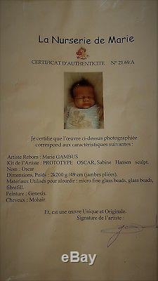 MARIE GAMBUS Nurserie Marie PROTOTYPE Silicone Vinyl Oscar Sabine Hansen Ethnic
