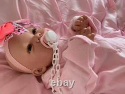 Made To Order Stunning Reborn Baby Girl Ellie Newborn Child Friendly 3+