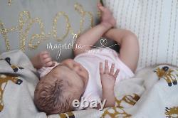 Magnolia Dream Doll Reborn baby girl Cayle by Olga Auer 19'' LE COA
