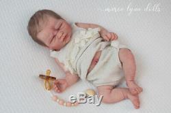 Maria Lynn Dolls 18 Full Body Solid Silicone Drink Wet Baby Girl Doll GRACE