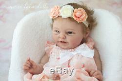 Maria Lynn Dolls 21 Full Body Solid Silicone Baby Girl HANNAH Bonnie Sieben