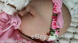 Marissa May Precious Baby Girl, Reborn By Sunbeambabies Soft Silicone Vinyl