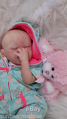 Marissa May, Sunbeambabies New Reborn Fake Baby Doll Soft Silicone Vinyl
