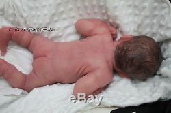 Mia Full Body Silicone Newborn Preemie baby Girl by Linda Moore
