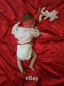 Miracle 2# by An huang Full body silicone baby doll