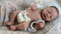 Monet Full Body Silicone Soft Ecoflex Blend Newborn baby Girl by Linda Moore