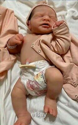 Monet by Linda Moore Full Body Silicone Baby Girl