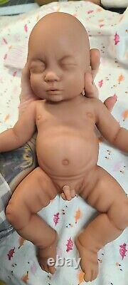 NEW 12 Full Body Silicone Baby Boy Doll William