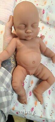 NEW 12 Full Body Silicone Baby Girl Doll Willow