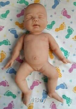 NEW 12 Micro Preemie Full Body Silicone Baby Girl Doll Charlotte