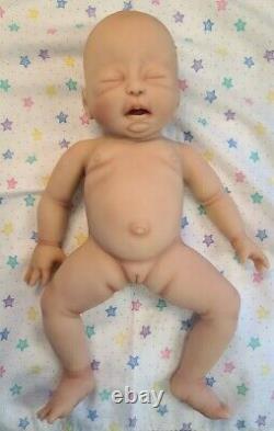 NEW 14 Preemie Full Body Silicone Baby Girl Doll Liberty