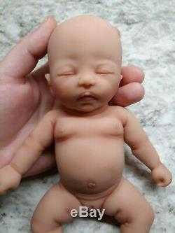 NEW 8 Micro Preemie Full Body Silicone Baby Girl Doll Izzy