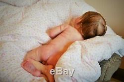 NEW! Baby GIRL Rileigh #17 out of 30! NEWBORN size, ROOTED hair, FULL Body