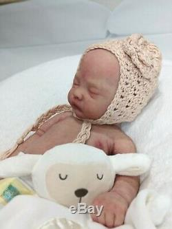 Natalie Full Body Solid Silicone baby girl by Izzy Zhao
