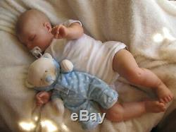 New 7lbs Reborn Toddler Baby Boy Doll & Gift Bag Donna Rubert Sunbeambabies Ghsp
