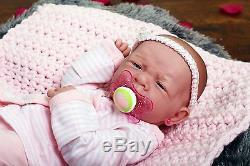 New Baby Girl Doll Real Reborn Berenguer 15 Inch Vinyl Lifelike Newborn