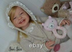 New Release! Custom Order! Reborn Baby Doll Toddler Girl Mila by Ping Lau