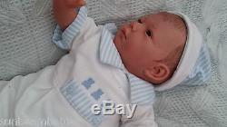 New Sculpt By Artist Sunbeambabies Lifelike Childs First Reborn Baby Boy Doll