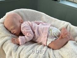 ORIGINAL JOANNA GOMES Mackenzie FULL BODY SILICONE BABY DOLL REALISTIC PROP COA