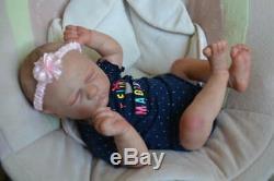 Ooak Reborn newborn baby Girl reborn baby Paisley art doll