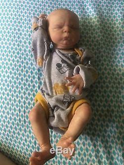 Ooak Reborn newborn baby boy reborn baby preemie Aiden boy art doll