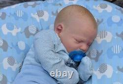 Ooak precious Realborn Reborn baby boy 20 7lbs 4oz withCOA Updated Photos LOOK