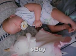 PROTOTYPE Hyper Real Reborn Baby Menna Hartog Silvia Creations Ezquerra OOAK