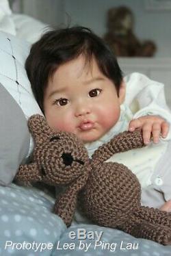 PROTOTYPE IIORA Lea Ping Reborn Baby Asian Toddler Conny Burke & Ping Lau